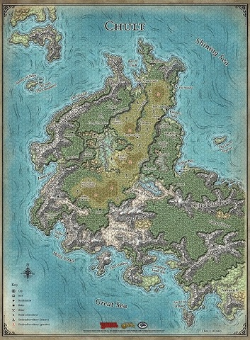 Dungeons And Dragons Map on