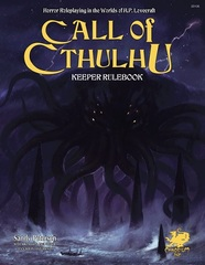 Call Of Cthulhu 7th Edition Keeper Rulebook Hardcover