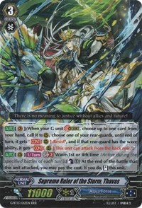Supreme Ruler of the Storm, Thavas - G-BT13/012EN - RRR