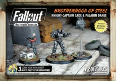 Fallout: Wasteland Warfare - Faction - Brotherhood Of Steel, Capt. Cade/Danse Set