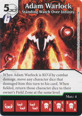 Adam Warlock - Standing Watch Over Infinity (Die and Card Combo)