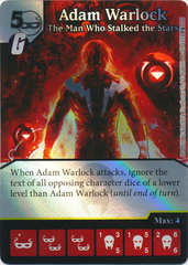 Adam Warlock - The Man Who Stalked The Stars (Die and Card Combo)
