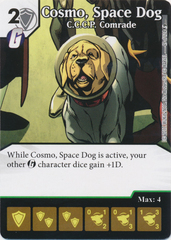 Cosmo, Space Dog - C.C.C.P. Comrade (Die and Card Combo)