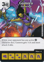 Gamora - Disowned (Die and Card Combo)
