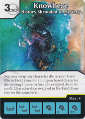 Knowhere - History Shrouded in Mystery (Die and Card Combo)