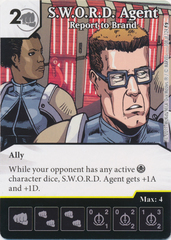S.W.O.R.D. Agent - Report to Brand (Die and Card Combo)