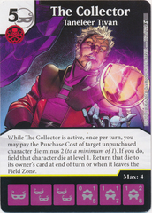 The Collector - Taneleer Tivan (Die and Card Combo)