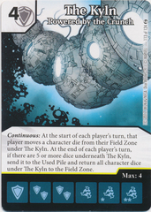 The Kyln - Powered by the Crunch (Card and Die Combo) Foil