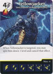 Yellowjacket - Only Chance to Redeem Myself! (Card and Die Combo) Foil