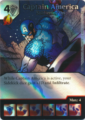 Captain America - Soldiering On (Die and Card Combo)