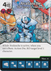 Avalanche - The Vizier of Vibration (Card Only)