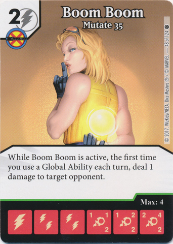 Boom Boom - Mutate 35 (Die and Card Combo)