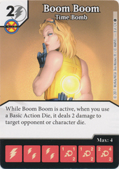 Boom Boom - Time Bomb (Card and Die Combo) Foil