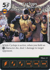 Cyclops - Balancing the Scales (Card and Die Combo) Foil