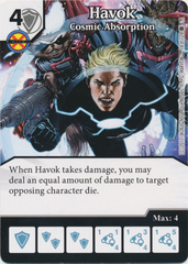 Havok - Cosmic Absorption (Die and Card Combo)