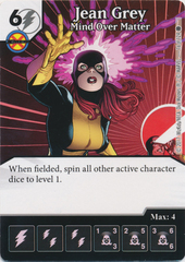 Jean Grey - Mind Over Matter (Card and Die Combo) Foil