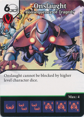 Onslaught - Consequence of Tragedy (Die and Card Combo)