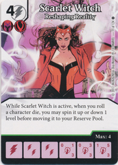 Scarlet Witch - Reshaping Reality (Die and Card Combo)