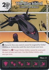 The Blackbird - Under the Radar (Die and Card Combo)