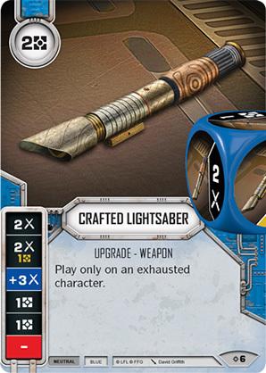 Crafted Lightsaber