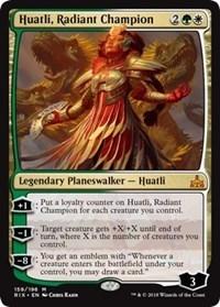 Huatli, Radiant Champion - Foil