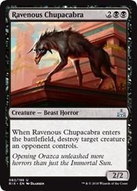 Ravenous Chupacabra - Foil