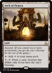 Arch of Orazca - Foil