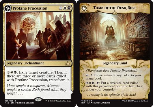 Profane Procession // Tomb of the Dusk Rose - Foil