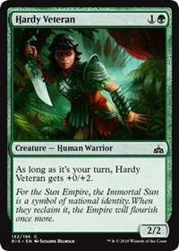 Hardy Veteran