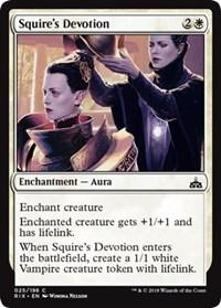 Squires Devotion