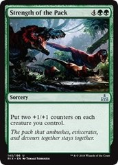 Strength of the Pack - Foil