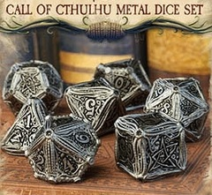 Call Of Cthulhu Metal 7 Set