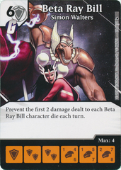 Beta Ray Bill - Simon Walters (Card and Die Combo) Foil