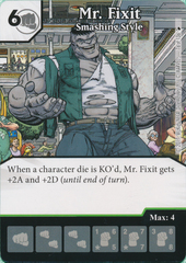 Mr. Fixit - Smashing Style (Card and Die Combo) Foil