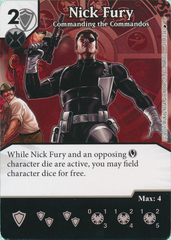 Nick Fury - Commanding the Commandos (Card Only)