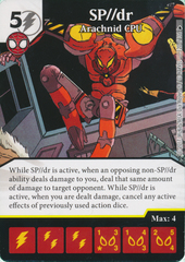 SP//dr - Arachnid CPU (Card and Die Combo) Foil
