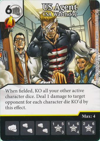US Agent - CSA Watchdog (Card Only)