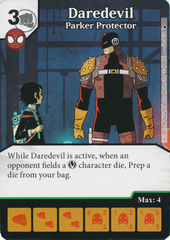 Daredevil - Parker Protector (Die and Card Combo)