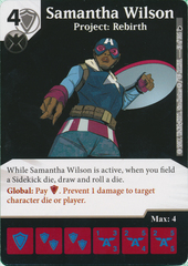 Samantha Wilson - Project: Rebirth (Die and Card Combo)