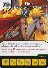 Thor - Representative of Midgard (Die and Card Combo)