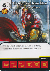 Thorbuster Iron Man - Type X Replusors (Die and Card Combo)