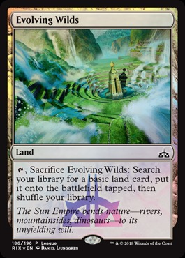 Evolving Wilds - League Promo