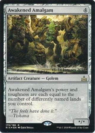 Awakened Amalgam - Foil - Prerelease Promo
