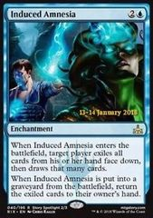Induced Amnesia - Foil - Prerelease Promo