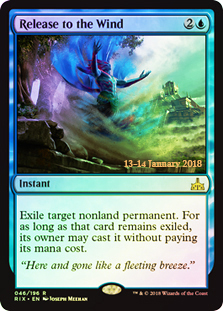 Release to the Wind - Foil - Prerelease Promo