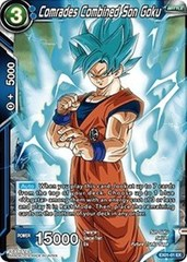 Comrades Combined Son Goku (Foil) - EX01-01 - EX on Channel Fireball