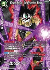 Masked Saiyan, the Mysterious Warrior (Foil) - EX02-02 - EX