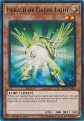 Herald of Green Light - SR05-EN020 - Common - 1st Edition