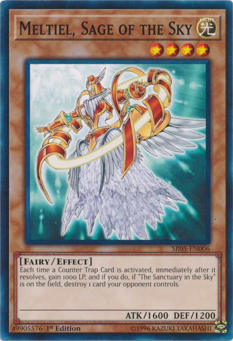 Meltiel, Sage of the Sky - SR05-EN006 - Common - 1st Edition