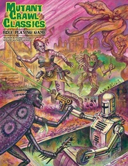 Mutant Crawl Classics RPG HC